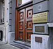 Bruxelles – Ingresso Fondazione Jean Monnet